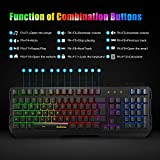 Zoom IMG-2 tastiera tedgem gaming pc led
