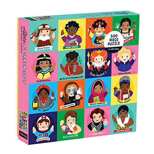 Little Feminist: 500 Piece Family Puzzle