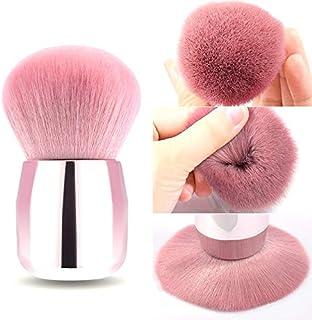 Kabuki Makeup Brushes Powder Foundation Brush Portable Powder Large Face Blush Brush, for Flawless Application