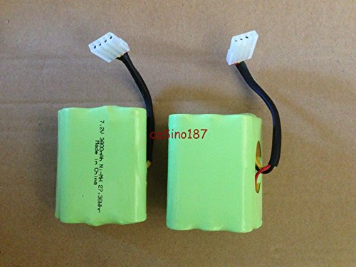 Sale!! Super Extended 3800mAh Battery 2-Pack for Neato xv-11 xv-12 xv-15 xv-21 xv-25 Signature XV Pr...