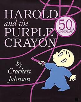 Harold and the Purple Crayon (Purple Crayon Books) by [Crockett Johnson]