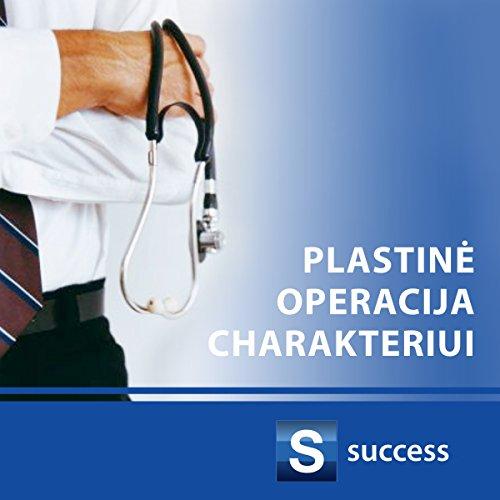 Plastine operacija charakteriui audiobook cover art