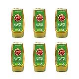 Mundo Feliz, dolcificante di mele biologico, 250 ml, confezione da 6...