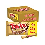 Twix Chocolate Biscuit Bars with Caramel Bulk Box, 117 Bars of 23 g