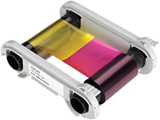 Evolis R6F003AAA 6 Panel Color Ribbon, Ymcko-K, 200 Prints/Roll