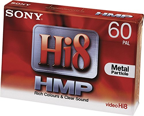 Sony Hi8 MP Camcorder Video Tape Band сassette 60 min – Audio-/Video (60 min)