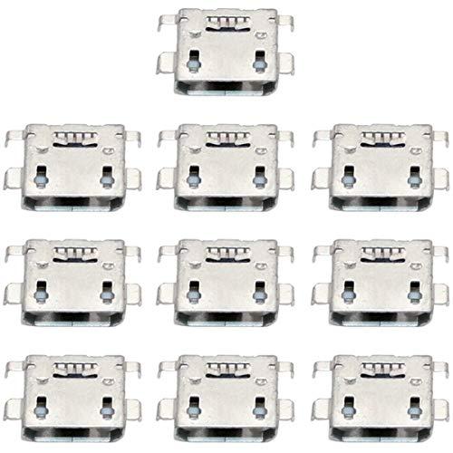 LENASH 10 PCS Conector de Puerto de Carga for Sony Xperia L C2105 Reemplazo de Puerto de Carga