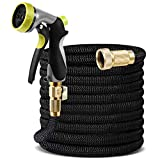 NOLYTH Expandable Garden Hose Pipe Flexible Water Hose 25Ft/7.5M Expanding Garden Hose