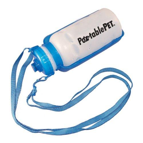 PortablePET 3058 Portable Pet Travel Bottle-Sport et Dish