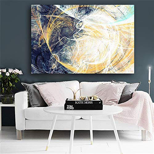Zantang, abstracte geometrische lijnen, olieverfschilderij op canvas, pop-art posters en drukken. Moderne wandwoonkamerdecoratie van de Scandinavische stijl.