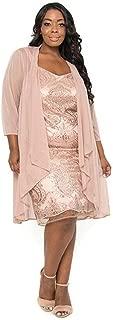 Mother of Bride Short Dress Plus Size