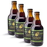 CEREX – Pack Cervezas Artesanas Sin Gluten Sabor Ibérica de Bellota - Cervezas de 33cl. - Mejor...