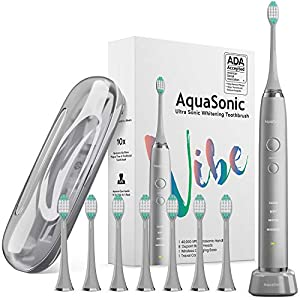 AquaSonic VIBE Series Ultra Whitening Toothbrush