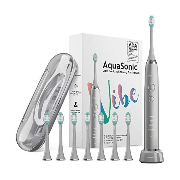 AquaSonic Vibe Series Whitening Toothbrush