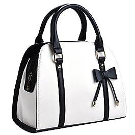 Sac a Main Femmes,Coofit Sac à main femme grand sac bandoulière femmes Sac a main Cuir synthétique Sac femme noir sac…