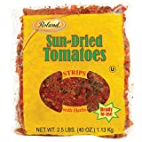 Roland Foods Sun-Dried Tomato Strips, Specialty Imported Food, 2.5-Pound Bag