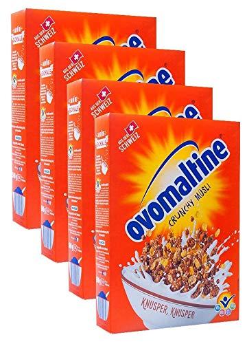 Ovomaltine Crunchy Müsli 4x500 g