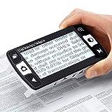 電子ルーペ デジタル 拡大鏡 4.3インチ液晶携帯型LEDライト搭載 6倍~約16倍 拡大読書器TV出力 (4.3インチ拡大鏡)