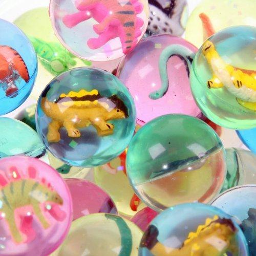 Dinosaur CADEAUX Bouncy Ball ANIMALE