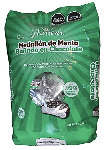 Chocolates De Menta Pearsons Mint Patties Original 1.81kg