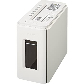 デスクサイドマルチシュレッダー Silent-Duo ノーブルホワイト KPS-MX100W