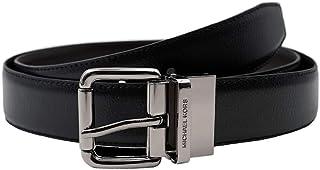 Michael Kors Men's 36H9LBLY4L Leather 4 In 1 Belt Cut To Size Box Set