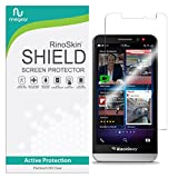 RinoGear BlackBerry Z30 Screen Protector Case Friendly Screen Protector for BlackBerry Z30 Accessory Full Coverage Clear Film