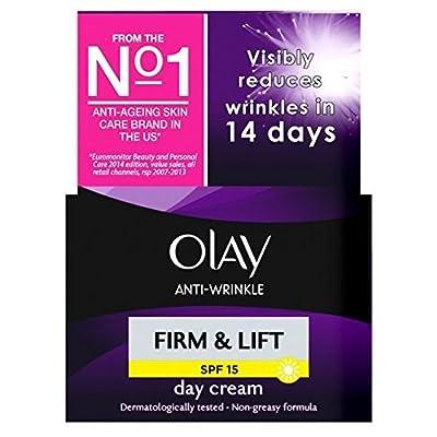 Olay Anti-Wrinkle Firm & Lift Moisturiser Day Cream SPF15 50ml