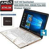 2020 HP 15 15.6' Touchscreen Laptop Computer, AMD Athlon 300U Up to 3.4GHz...