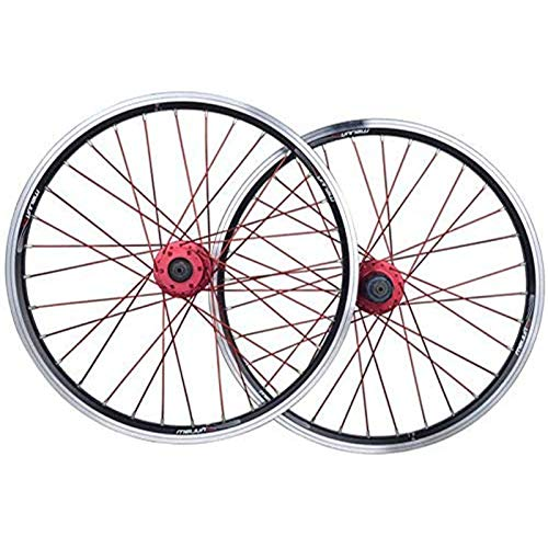 HJRD Mountain bike rims rear wheel, 26 inch bicycle wheelset double wall Quick release rim V-brake disc brake 32 holes 7-8-9-10 speed