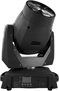 STSLITE Stage Lights Moving Head Beam 75W White LED with Color Gobo Wheel for Party Pub Wedding DJ Night Club Family of Stage Lighting (75W, Black)