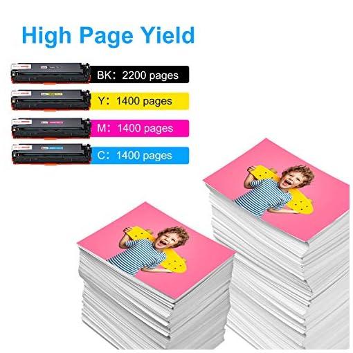 Sizzler Compatible HP 125A Cartucho de tóner CB540A CB541A CB542A CB543A para HP Color LaserJet CM1312 CM1312 mfp… 4