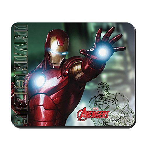 CafePress Avengers Invincible Iron Man Non-Slip Rubber Mousepad, Gaming Mouse Pad