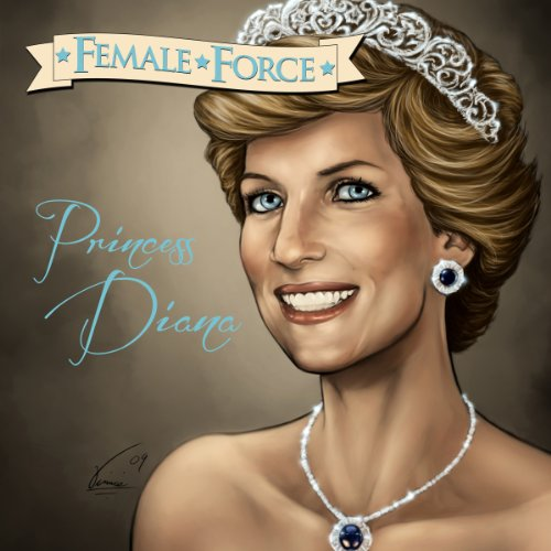 『Female Force: Princess Diana』のカバーアート
