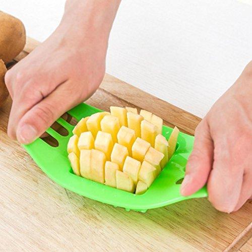 WYFC Coupe de cuisine créative maison-coupe frites pommes de terre pommes de terre frites coupe machine pour fries. gadgets Apple (couleurs aléatoires)