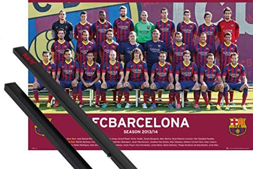 1art1 Fútbol Póster (91x61 cm) Barcelona Team Photo 13/14 Y 1 Lote...