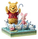 Disney Traditions 4054279 50 Years of Pooh and Piglet - Multi-Colour 13 x 13 x 16 cm