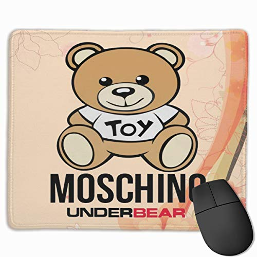 Moschino 10'X 12' Mouse Pad Durable Computer Games One Size