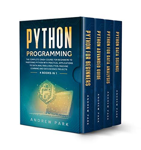 Python Programming: 4 Books in 1