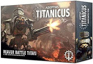 Games Workshop Warhammer Adeptus Titanicus: Reaver Battle Titan - coolthings.us