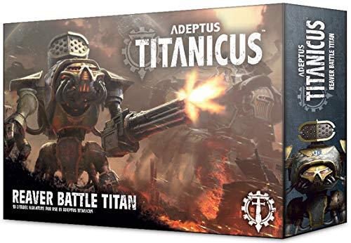 Games Workshop 400-17 adeptus titanicus reaver battle titan in plastica da montare e dipingere