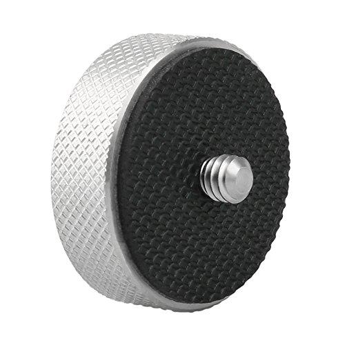 NICEYRIG Gewinde Adapter für Mikrofonständer, 1/4 Stecker auf 3/8 weiblich