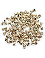 Spacer Metalen Kralen Kleine losse kralen 1000/2000 stuks ronde vorm spacer kralen handgemaakte diy kraal eindkappen zonder vervagende kralen accessoires