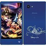 DM-01H スパークルブルー Sparkle Blue Disney Mobile ディズニーモバイル 白ロム docomo