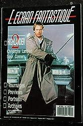 L\'écran fantastique n°109 * 1989 * HIGHLANDER Christophe LAMBERT Sean CONNERY Ninja Turtles