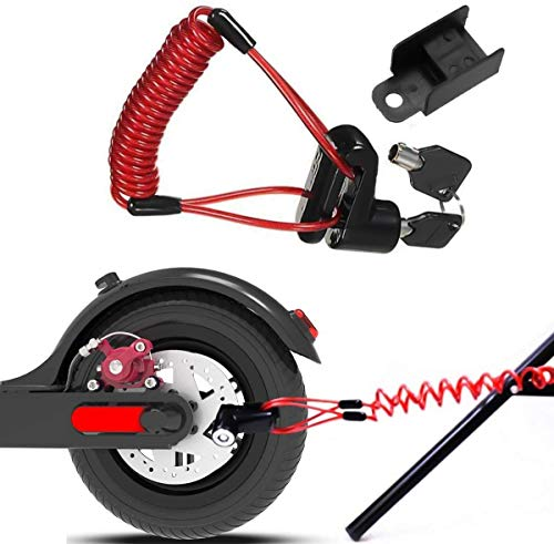 ZatRuiZE Disc Brake Lock for Electric Scooter, Anti-theft Motorcycle Disc...