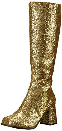 Ellie Shoes Women's Gogo-g Boot, Gold, 11 US/11 M US