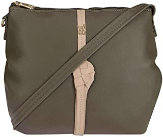 Baggit Women's Sling Bag (Green)