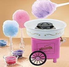 APROTII Machine à barbe à papa, machine à sucre électrique en coton 30 x 30 x 28 cm, idéale pour les fêtes d'anniversaire ...