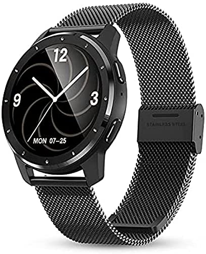 LLM 2021 Smart Watches Intelligent Fitness Tracker Smart Band Bracciale Blood Pressure Frequenza cardiaca Smartwatch per Android iOS(B)